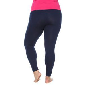 White Mark-Plus Super Stretch Legging